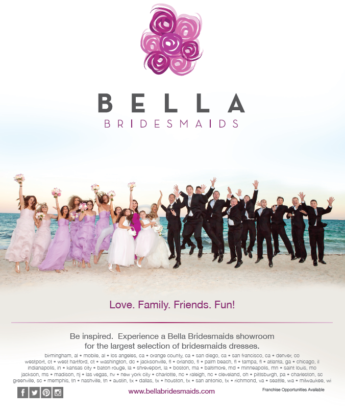 Bella Bridesmaids Spring 2014 ad